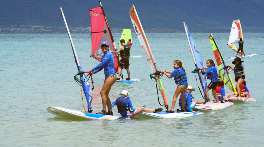 Windsurfing Lessons for Beginners