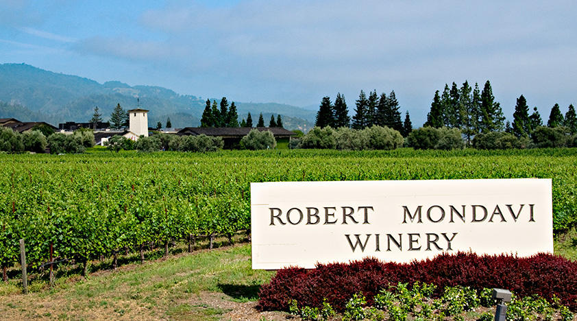 Robert Mondavi Winery Tour
