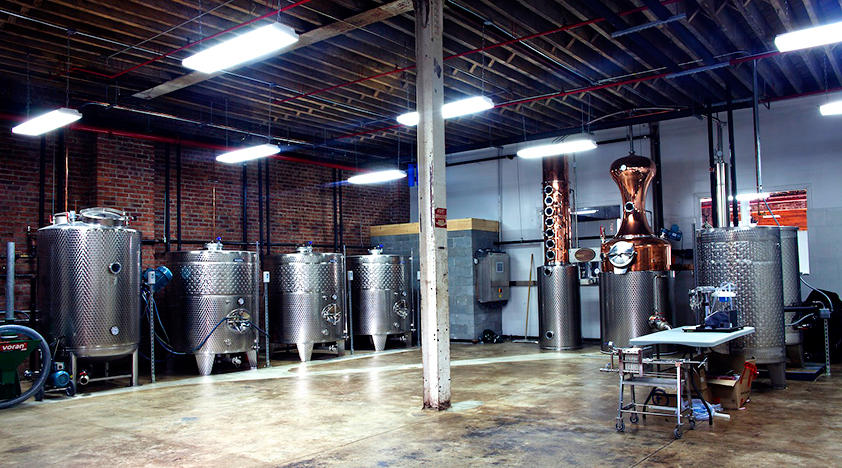 Small-Batch Distillery Tours and Tastings