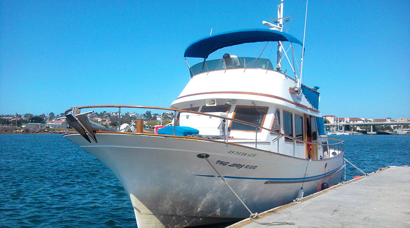 Fishing trips in san diego peek for San diego private fishing charters