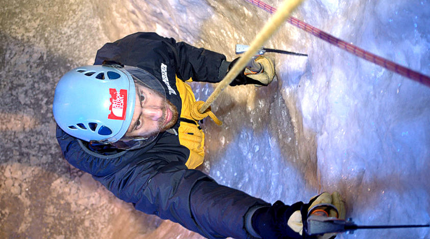 Indoor Ice Climbing