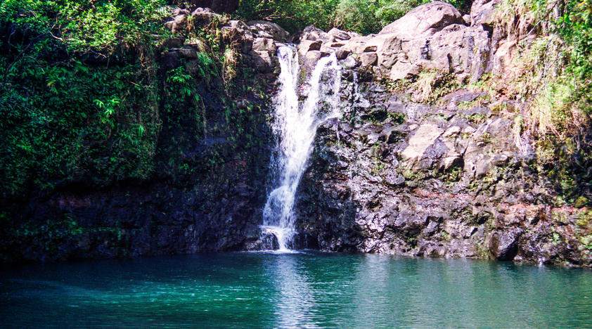 Kayak, Snorkel and Waterfall Hike