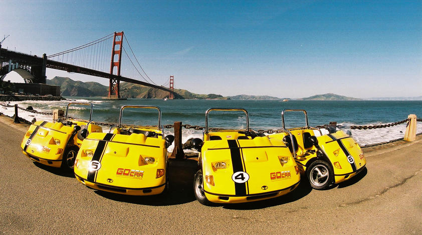 GoCar Tours in San Francisco