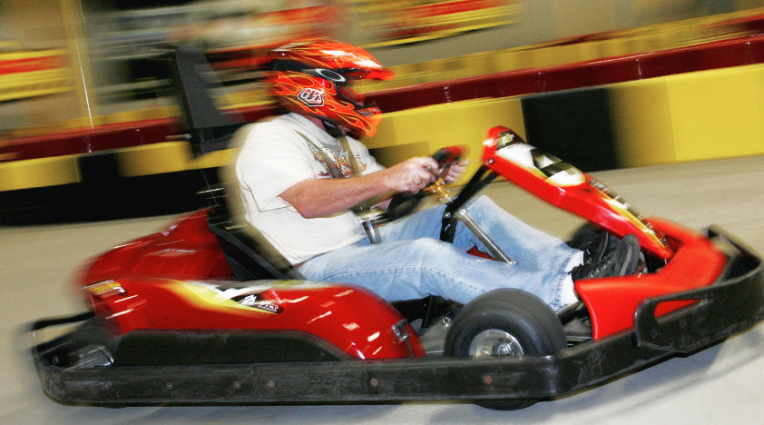 Indoor Go-Kart Racing