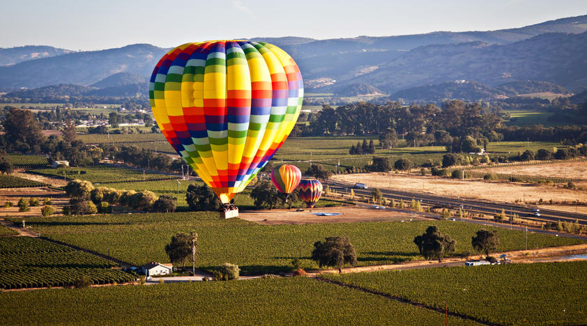 Napa Hot Air Balloon Ride