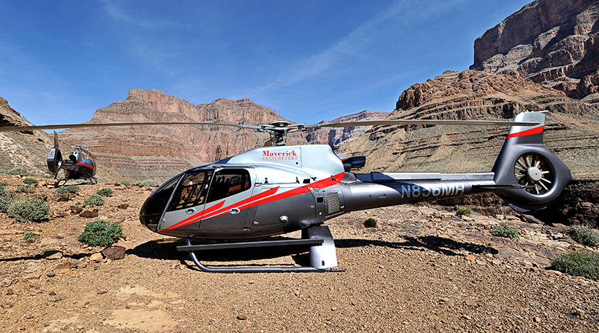 Helicopter Flights Over The Strip And The Grand Canyon In Las Vegas  Peek