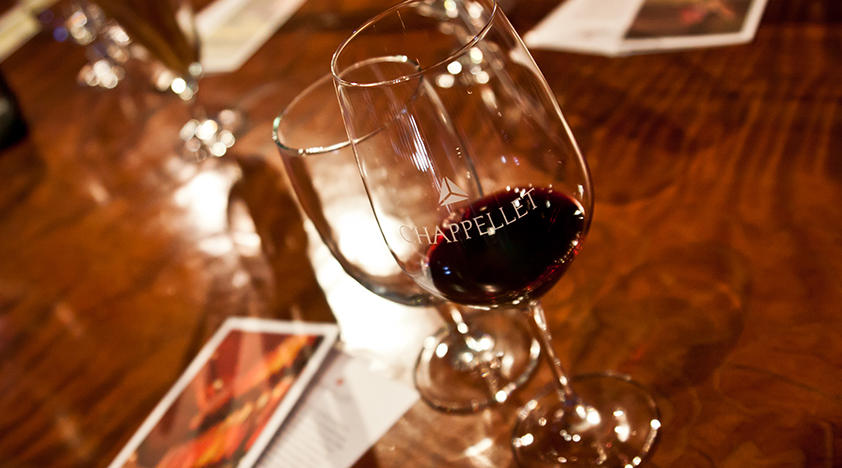 Chappellet Tour and Tasting