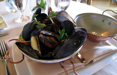 Mussels at Murray Circle