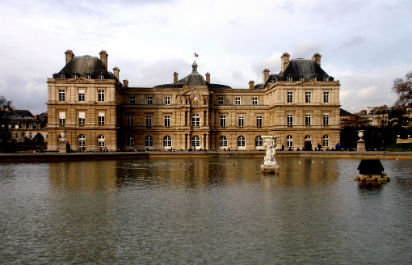 Pond at Jardin de Luxembourg