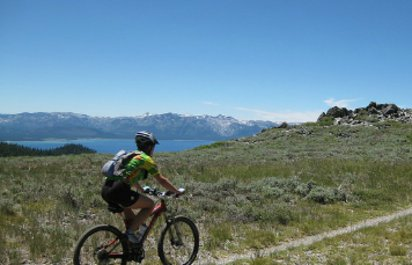 Mountain Biking the Tahoe Rim Trail