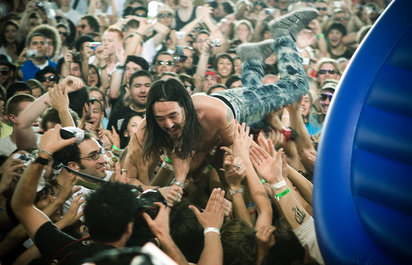 Steve Aoki's LA Homecoming Show