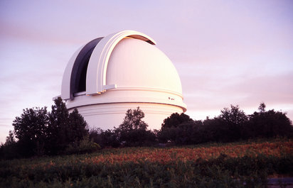 Telescope at the Palomar Observatory