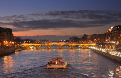 Evening Driving Tours with Seine Cruises