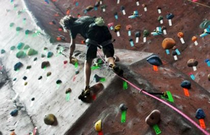 Indoor Rock Climbing Classes