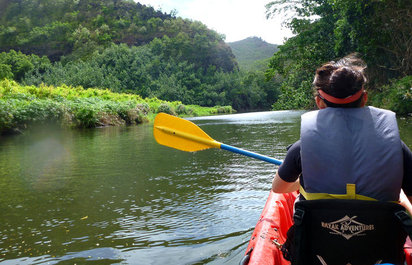 Wailua Kayak, Hike and Picnic