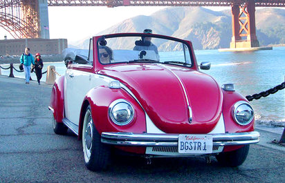 Vintage VW Bug Beetle Tours