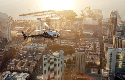 Helicopter Tours over San Diego