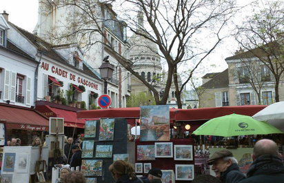 The Impressionists' Montmartre Tour