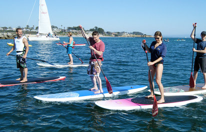 Northern California Stand-Up Paddling