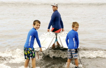 Private Surf Lessons at Guardrails Beach
