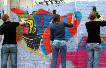 Street Art Workshops and Tours