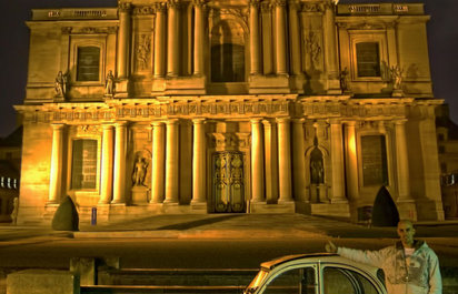 Montmartre by Night Driving Tour