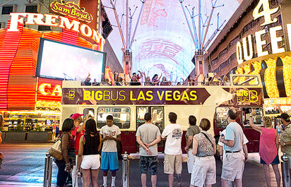 Las Vegas Open Top Bus Tours