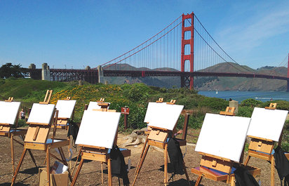 Open-Air Painting Workshops