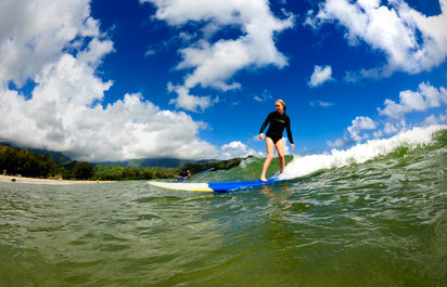 Surfing and Paddle Boarding
