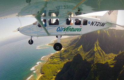 Airplane Rides over Kauai