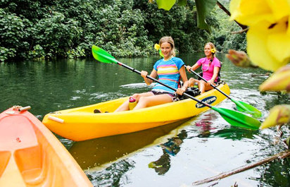 Wailua River Kayak and Hike